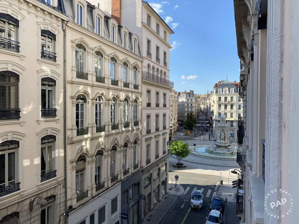Vente appartement studio Lyon 2e