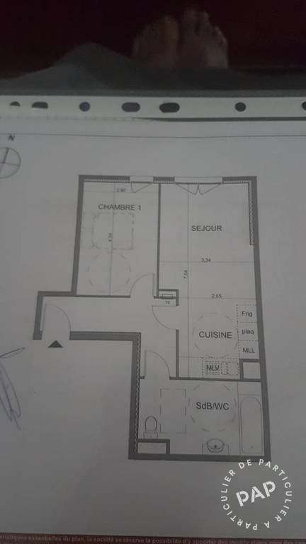 Location appartement 2 pièces Marseille 10e
