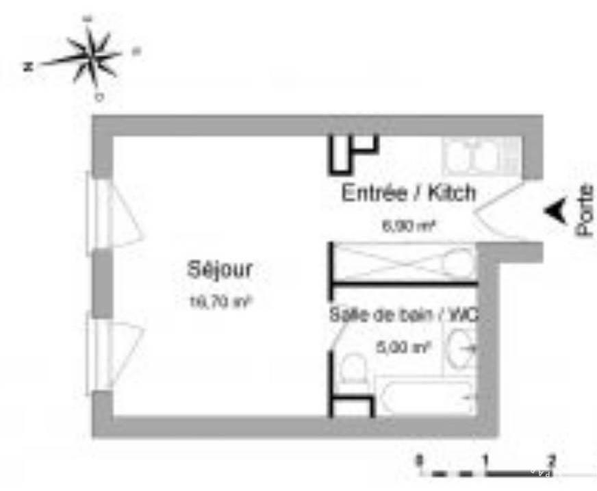 Vente appartement studio Grigny (69520)