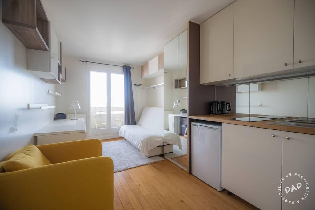 Location Appartement Paris 19E 25m² 900€