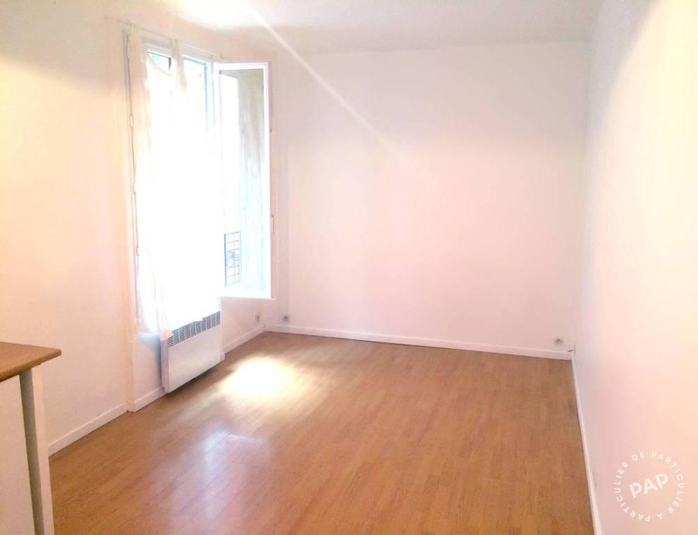 Location appartement studio Paris 20e