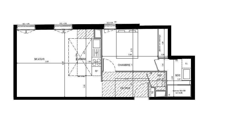 Vente immobilier 565.000€ Paris 11E (75011)