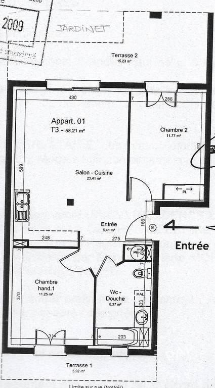 Appartement Gretz-Armainvilliers (77220) 219.000€