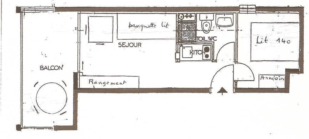 Appartement 21m²