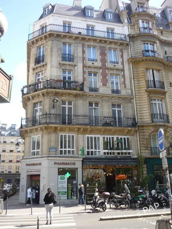 Location appartement studio Paris 3e