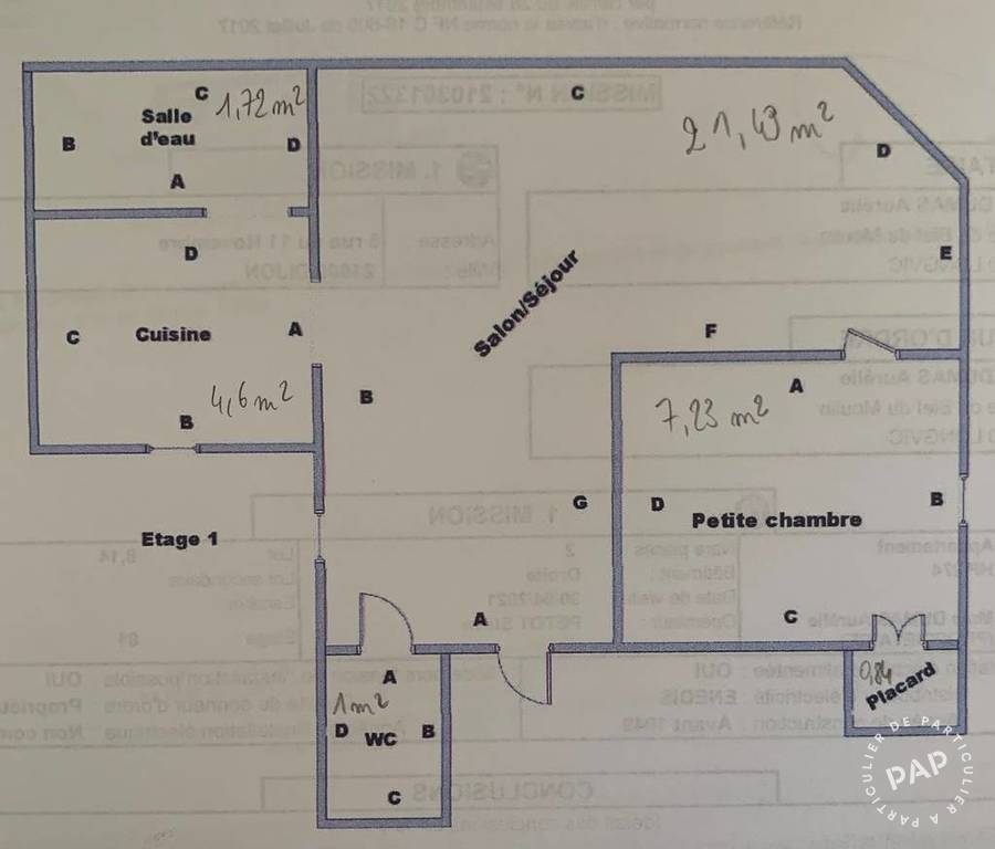 Appartement Dijon (21000) 103.000€