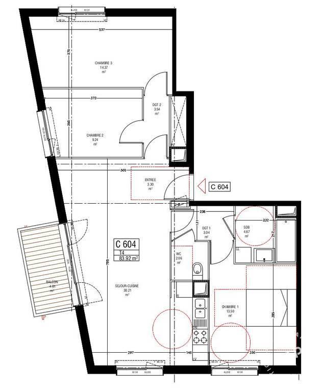 Vente Malakoff (92240) 84m²