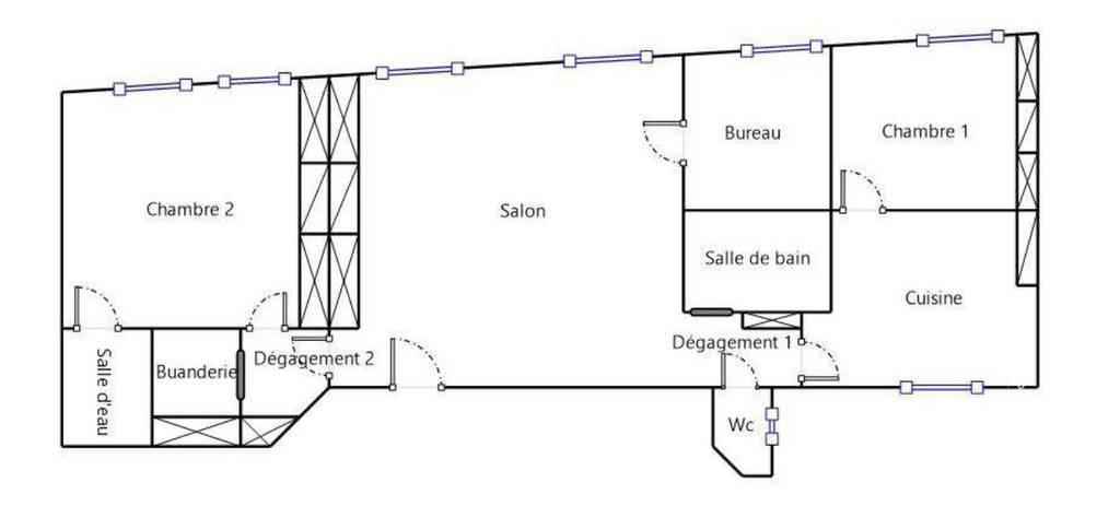 Immobilier Lyon 1Er (69001) 670.000€ 97m²