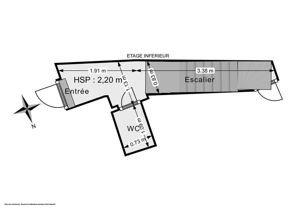 Immobilier Brou-Sur-Chantereine (77177) 75.000€ 17m²