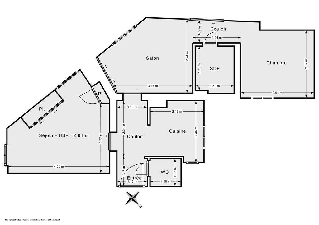 Vente Appartement Alfortville (94140) 52m² 294.000€