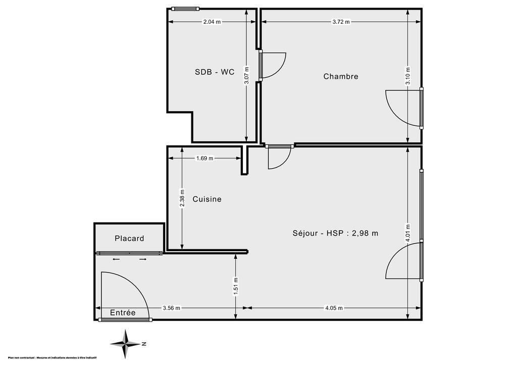 Vente Appartement Montévrain (77144) 46m² 240.000€