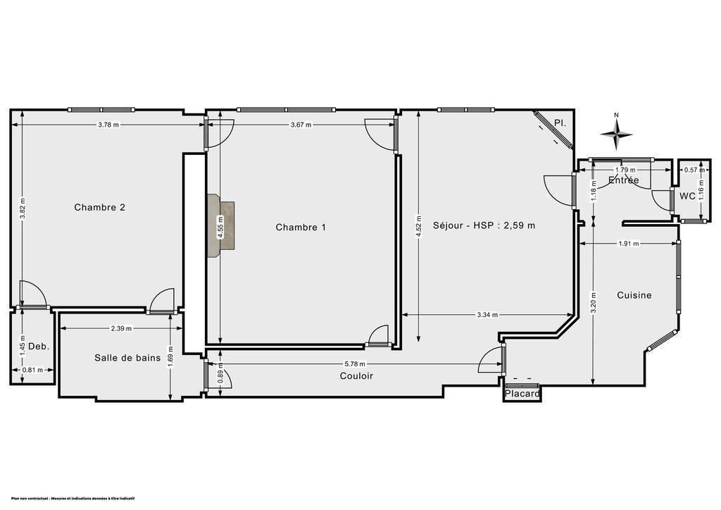 Vente Appartement Paris 2E (75002) 69m² 890.000€