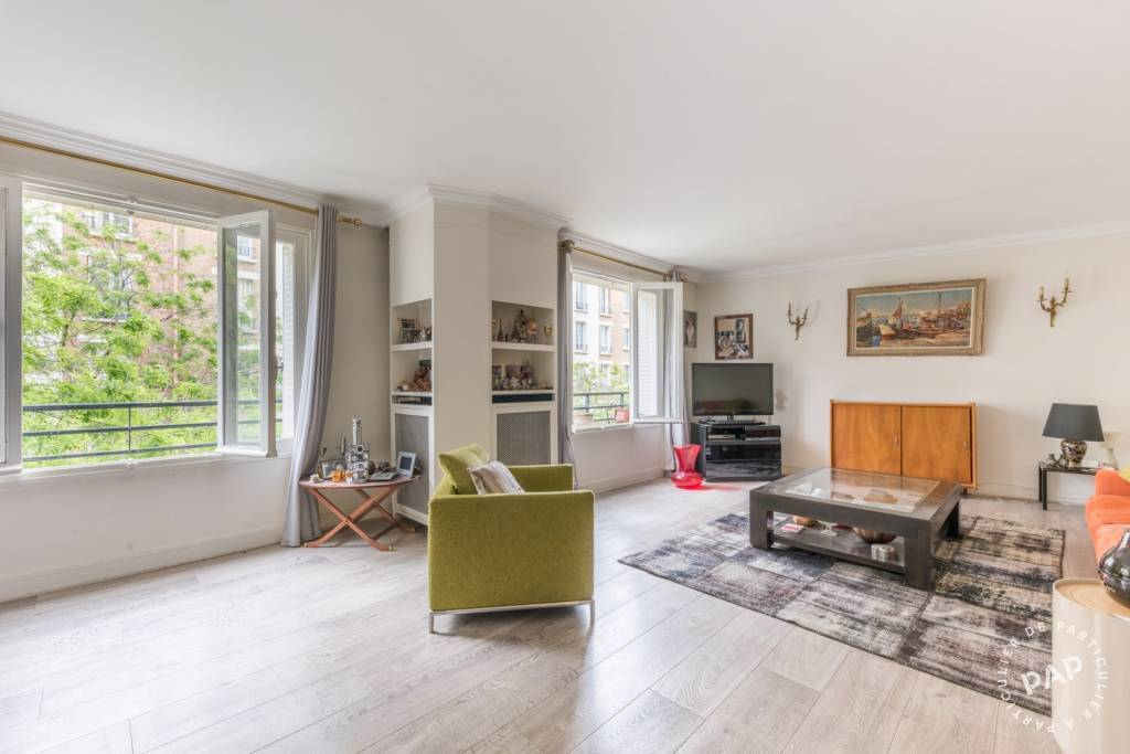 Vente Appartement Paris 16E (75016) 95m² 950.000€