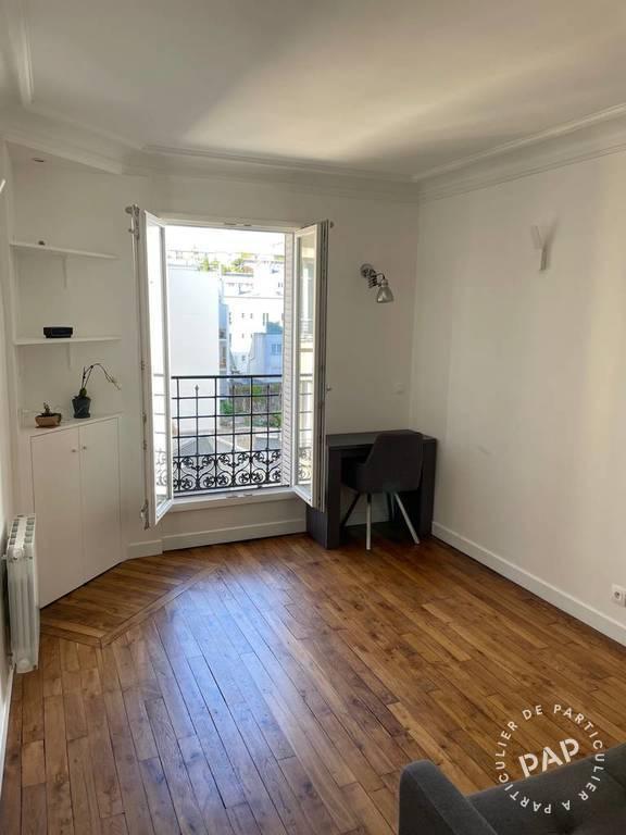 Location Appartement Paris 18E (75018) 25m² 990€