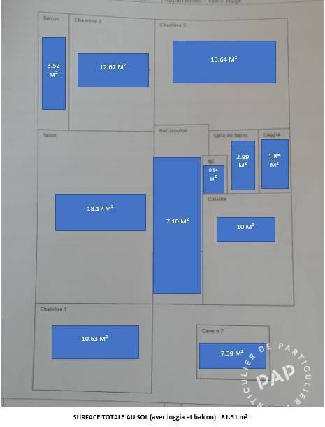 Vente appartement 4 pièces Fontaine (38600)