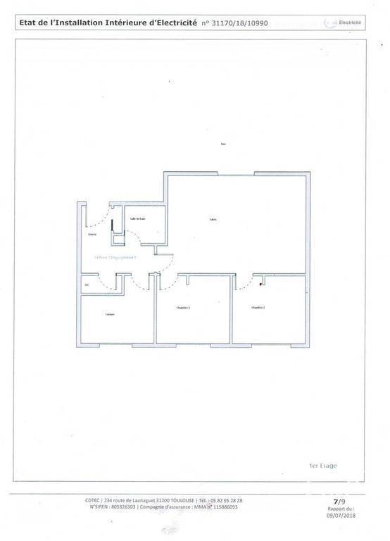 Appartement Tournefeuille (31170) 170.000€