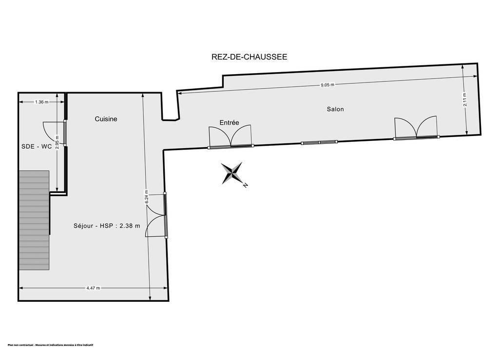 Vente Maison Yèvre-La-Ville 70m² 205.000€