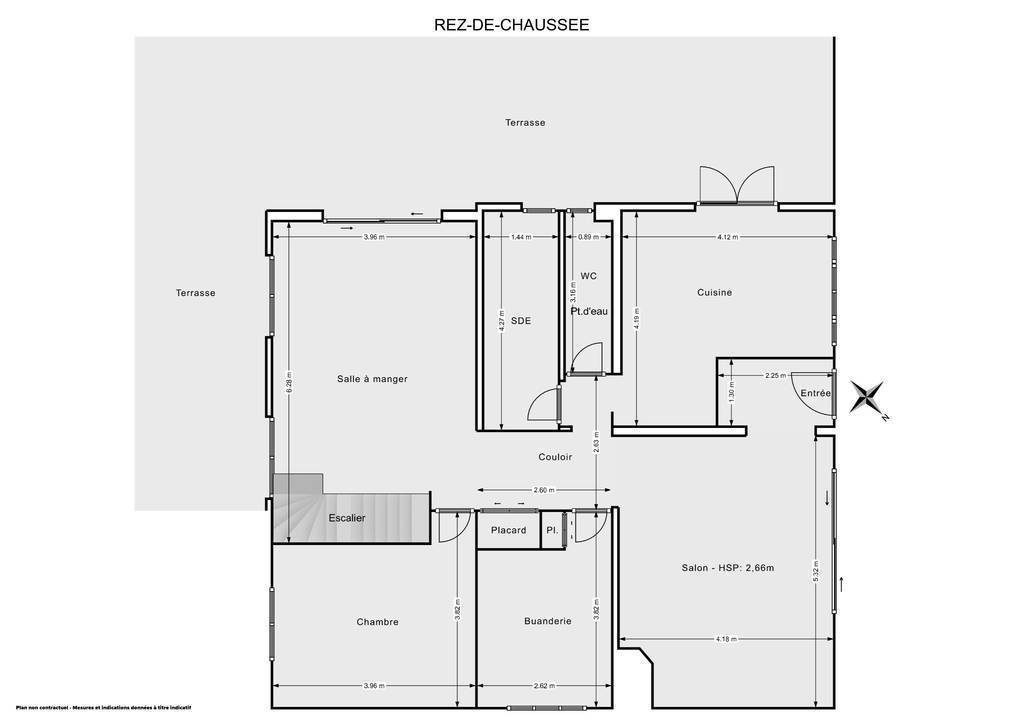 Vente Maison Le Haillan (33185) 190m² 520.000€