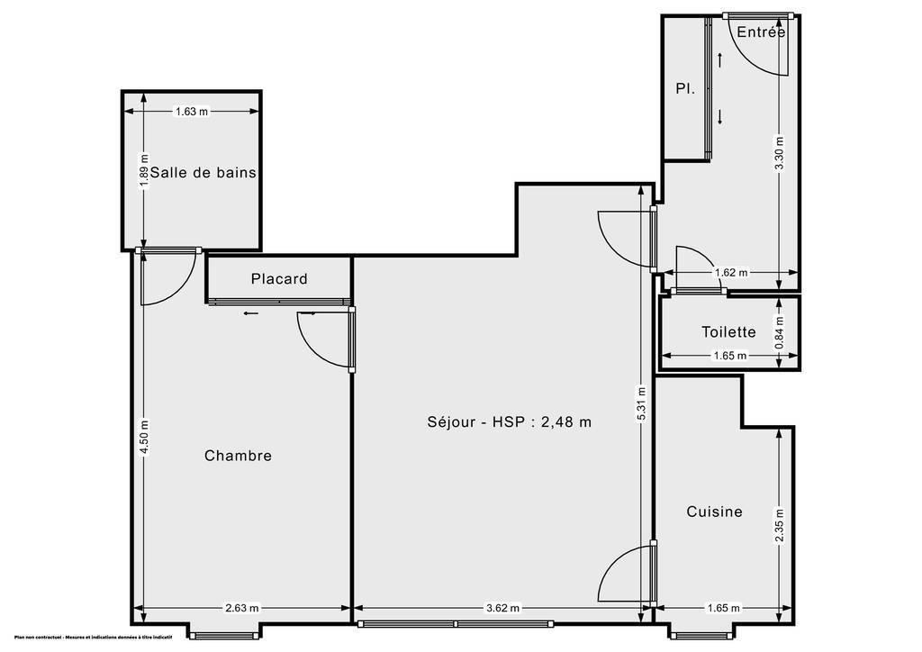Vente Appartement Paris 20E (75020) 43m² 450.000€