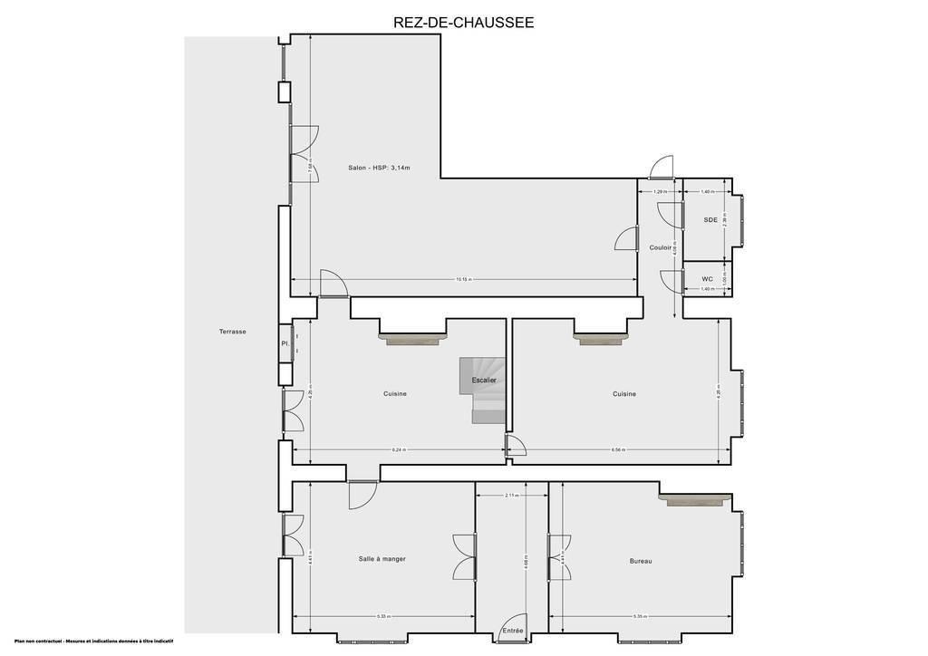 Maison 15 Km - Carcassonne 248.000€