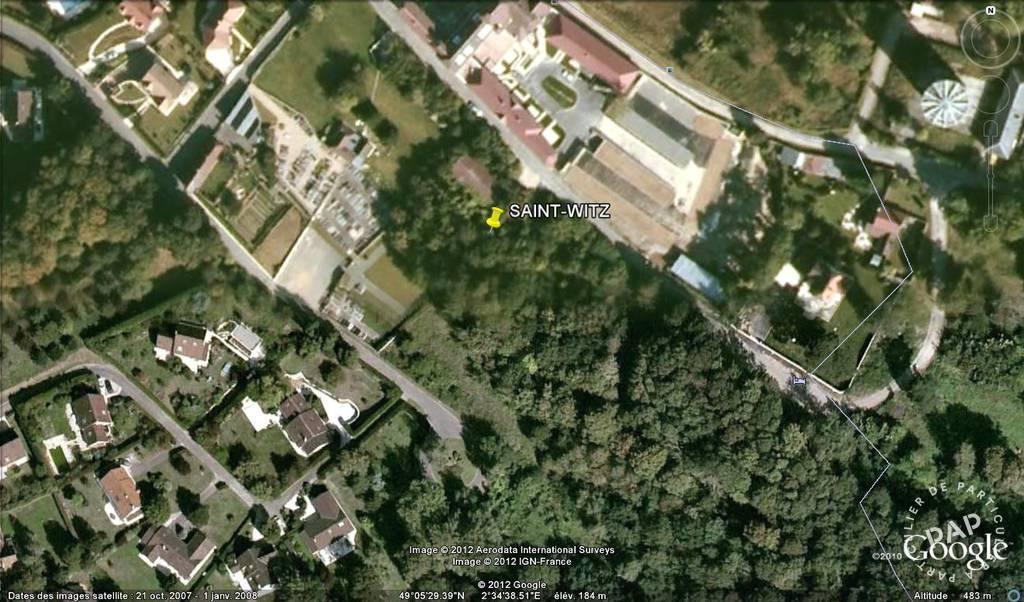 Vente Terrain Saint-Witz (95470)  280.000€