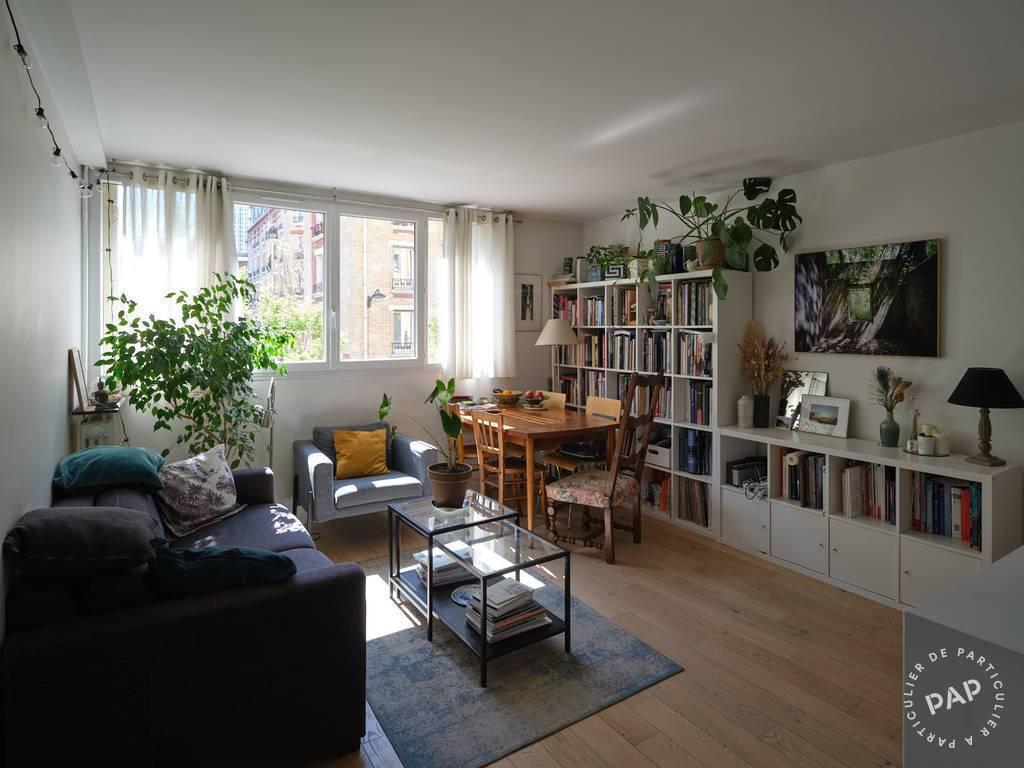 Vente Appartement Paris 19E (75019) 62m² 585.000€