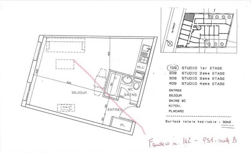 Appartement Paris 17E (75017) 370.000€