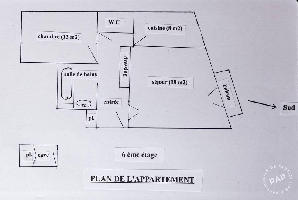 Appartement 59.000€ 52m² Vichy (03200)