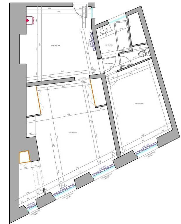 Immobilier Paris 3E (75003) 730.000€ 57m²