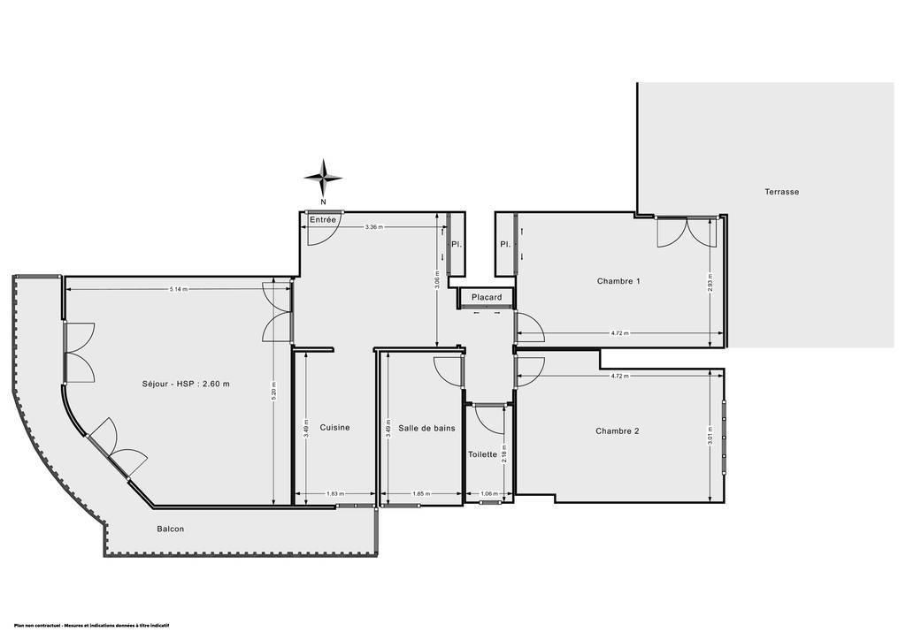 Vente Appartement Cannes (06400) 80m² 299.000€