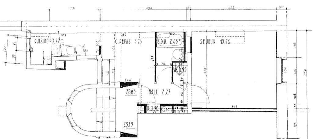Vente Appartement 29m²