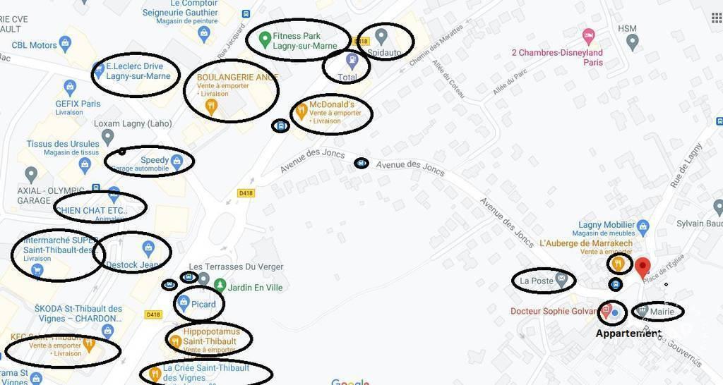 Immobilier 1 Km Lagny-Sur-Marne 292.000€ 105m²