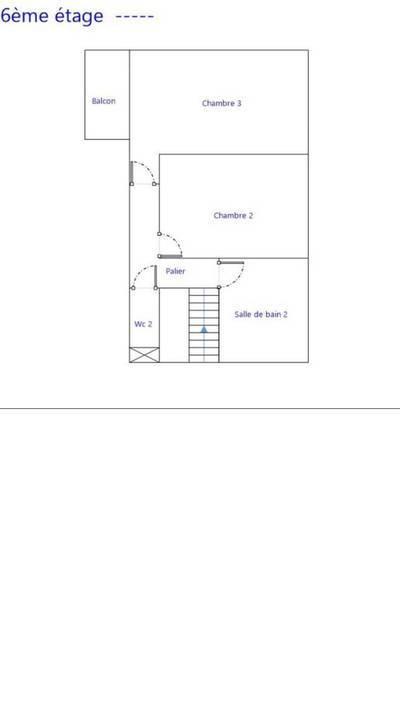 Alésia  - Duplex Aux Derniers Étages