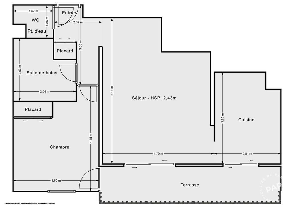 Vente Appartement Agde (34300) 59m² 179.000€