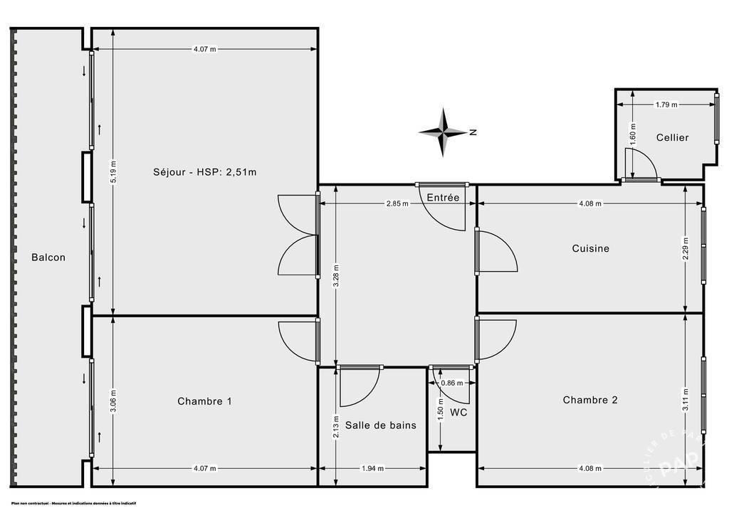 Vente Appartement Limite Lyon 6E