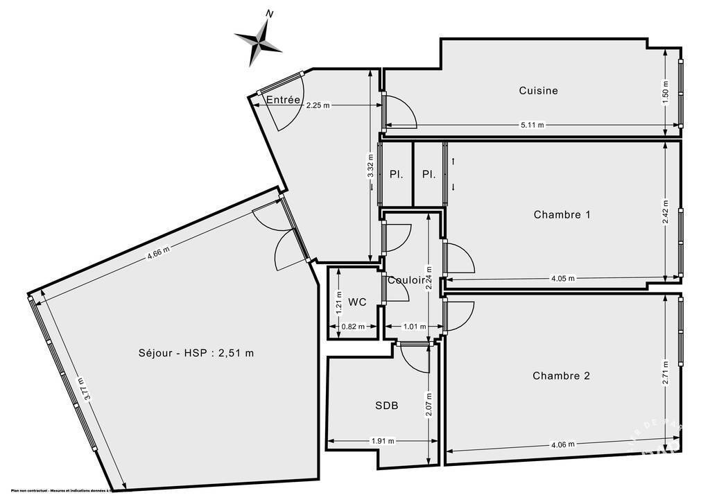 Appartement Paris 14E (75014) 750.000€