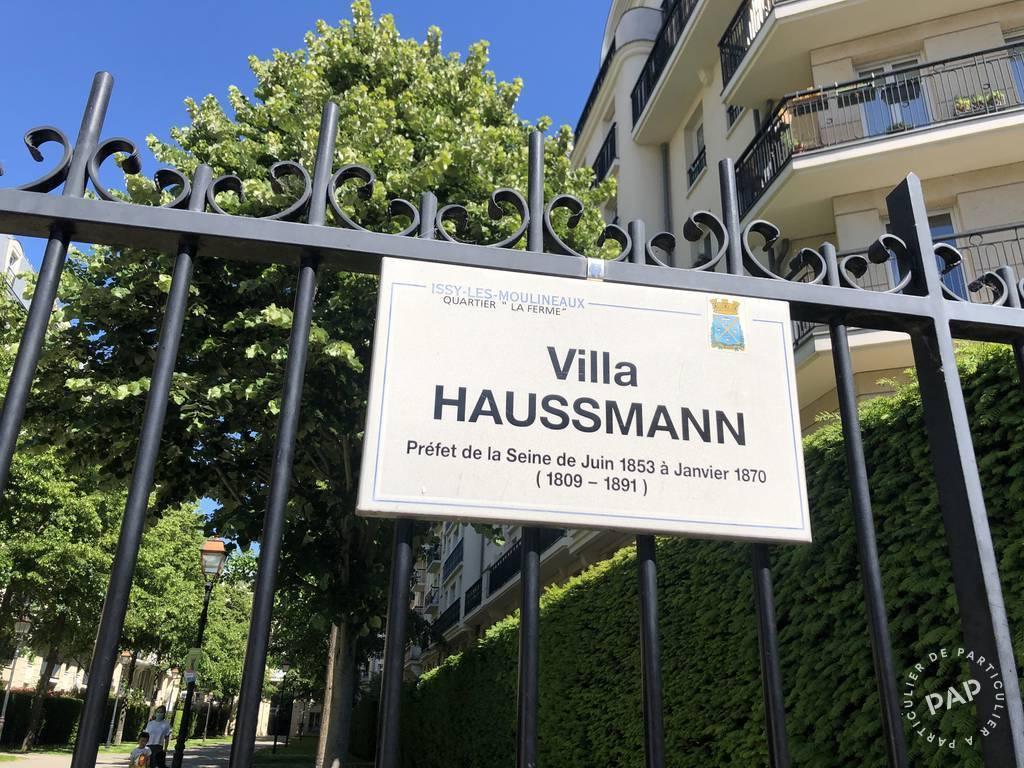 Vente Appartement Issy-Les-Moulineaux (92130) 89m² 835.000€