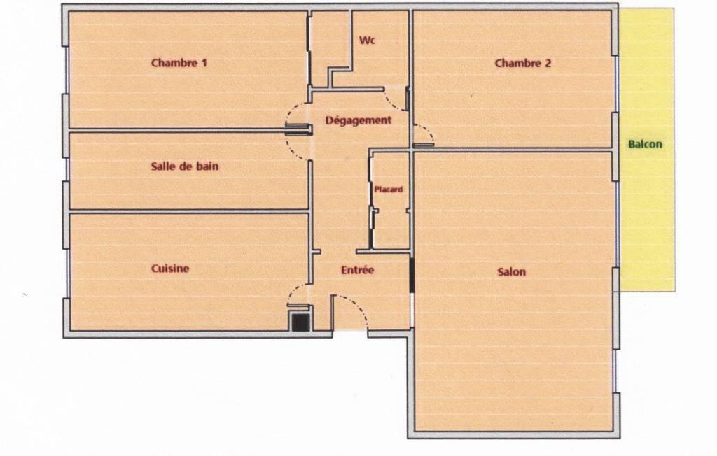 Vente Appartement Deuil-La-Barre (95170) 74m² 250.000€