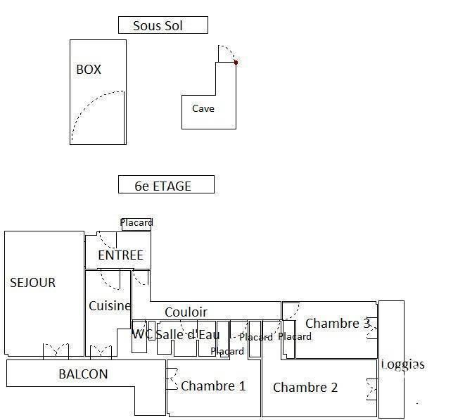 Vente Appartement Paris 19E 100m² 1.155.000€