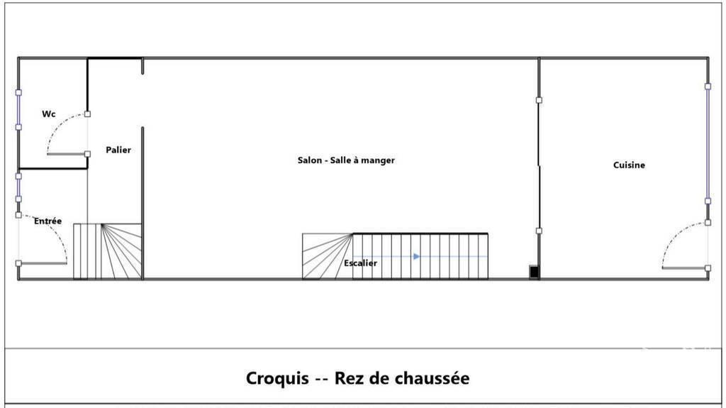 Maison 660.000€ 108m² Montreuil (93100)