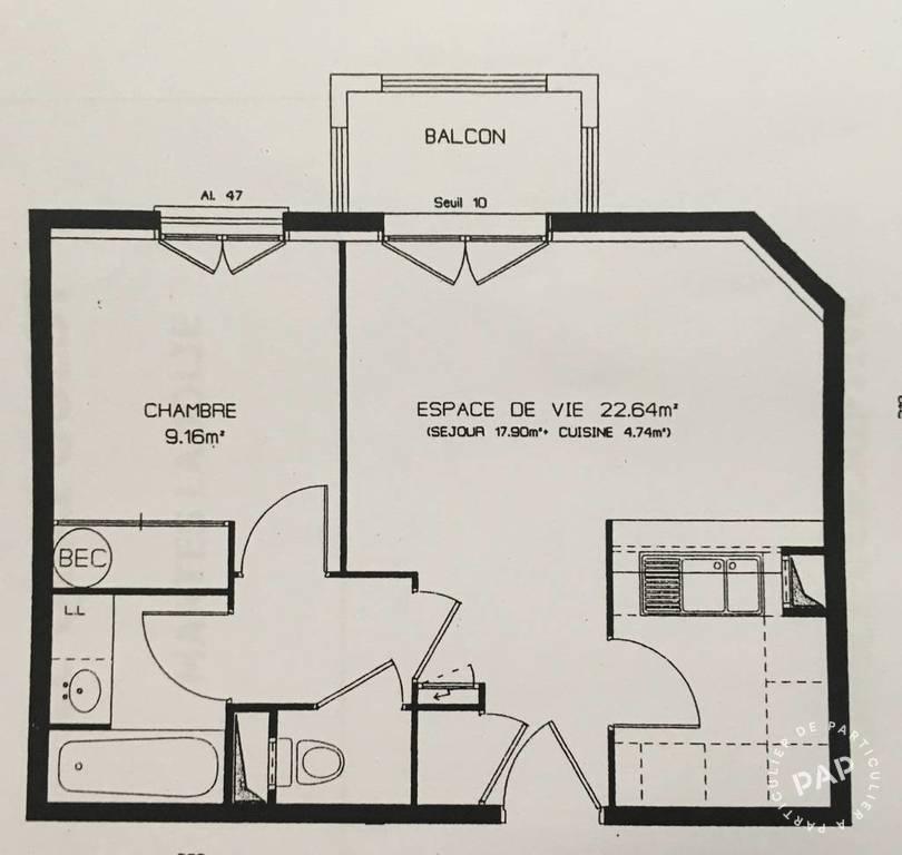 Appartement 152.000€ 40m² Mantes-La-Jolie (78200)