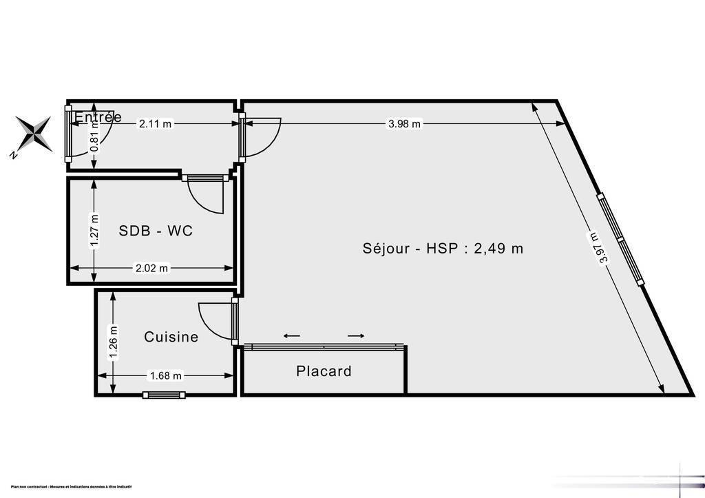 Appartement 24m²