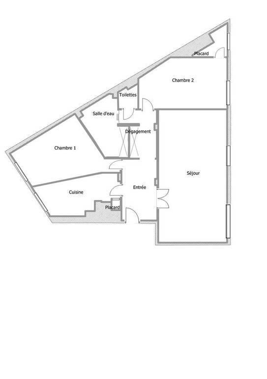 Appartement 90m²