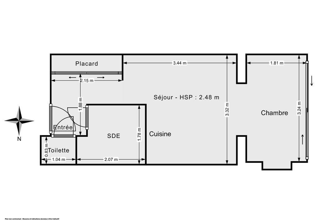 Vente Appartement Six-Fours-Les-Plages (83140) 25m² 99.000€