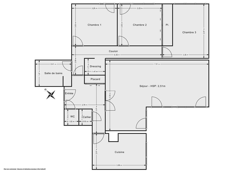 Vente Appartement Boussy-Saint-Antoine (91800) 95m² 190.000€