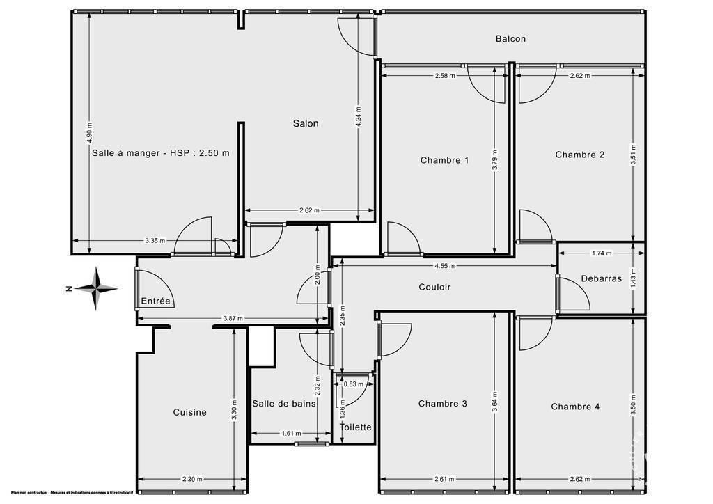 Vente Appartement Meaux (77100) 88m² 220.000€
