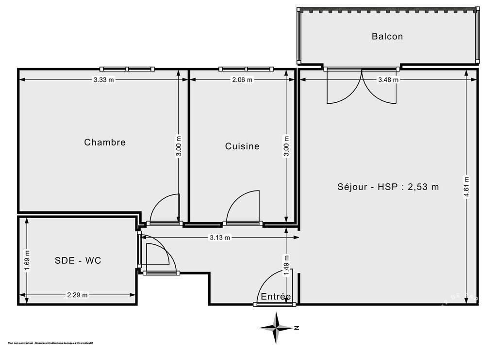 Vente Appartement Tremblay-En-France (93290) 40m² 147.000€