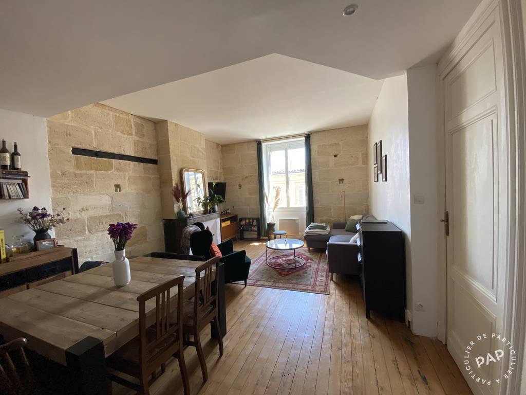 Vente appartement 3 pièces Bordeaux (33)