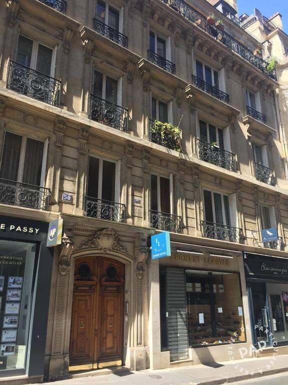Vente appartement studio Paris 16e