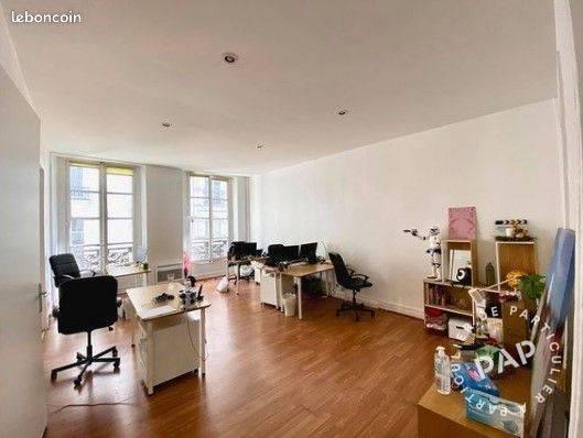 Vente et location Bureaux, local professionnel Paris 2E (75002) 70m² 2.700€
